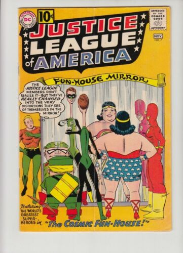 JUSTICE LEAGUE OF AMERICA #7 VG/FN