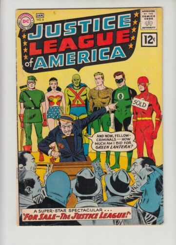 JUSTICE LEAGUE OF AMERICA #8 VG