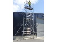 Scaffold - Aluminium - 8m - Hire