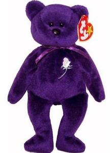 princess diana beanie baby ebay. Black Bedroom Furniture Sets. Home Design Ideas