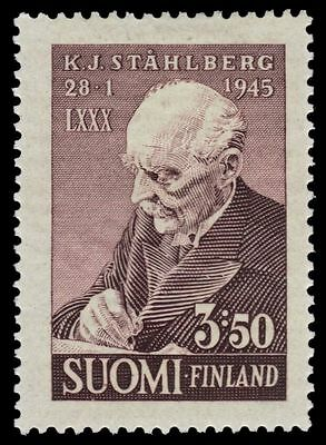 FINLAND 246 (Mi295) - Dr. K. J. Stahlberg 80th Birthday (pf75460)