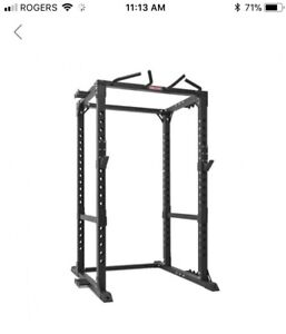 Xtreme Monkey 365 power rack with Olympic bar and weights