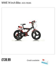 "Boys 14"" WWE Bike"
