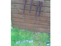 Howson golf clubs for sale need gone quickly