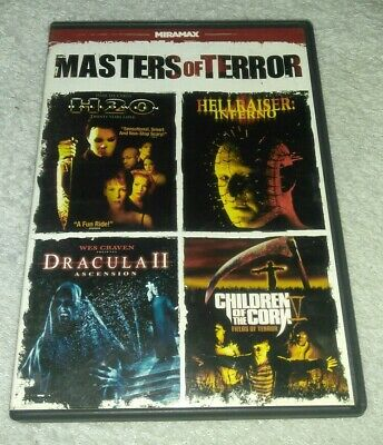 Masters of Terror (DVD, 4-Film Feature) *HORROR *HALLOWEEN](Filme Terror Halloween)