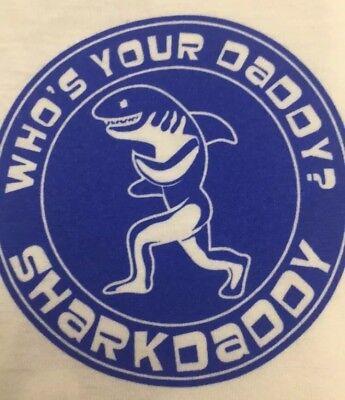 Shark Daddy T Shirt Medium M Southern Tide Simply Vineyard Vines Roxy