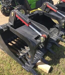 New 72in HD rock grapple attachment for skid steer