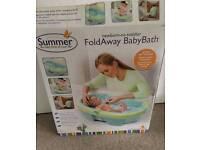 Summers foldaway baby bath