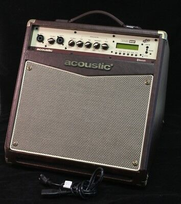 Acoustic A40 Amplifier  Guitar and Microphone