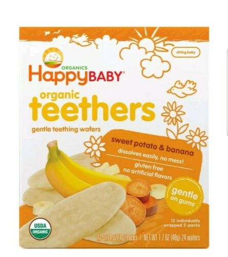 Happy Tot Organic Stage 4 Super Morning Organic Bananas Blue
