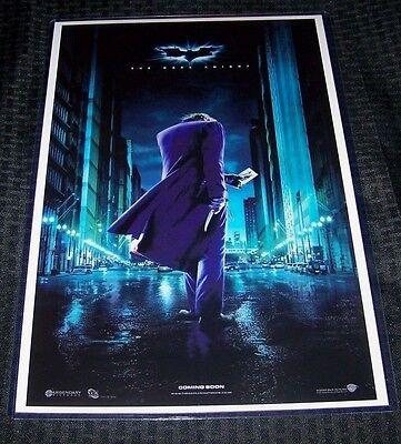 Batman The Dark Knight The Joker  11X17 Teaser Poster Heath Ledger