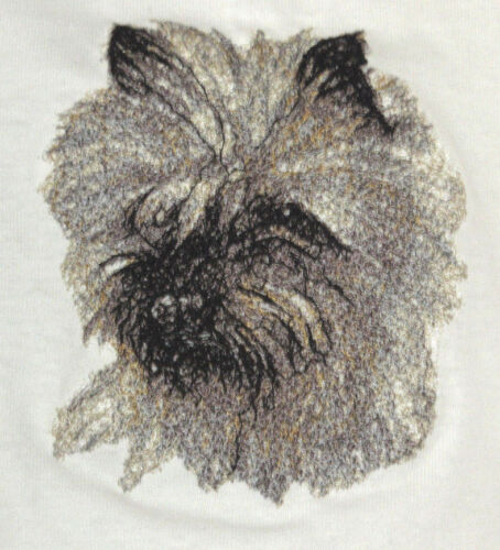 Embroidered Sweatshirt - Cairn Terrier AED14565 Sizes S - XXL