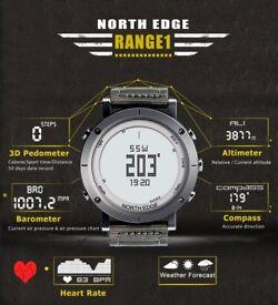 North Edge digital watches