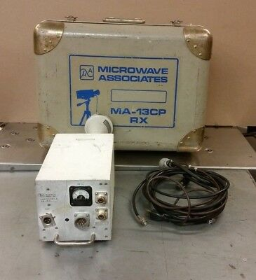 Vintage Microwave Assoc. Inc. Ma-13cp Rx Transmitter