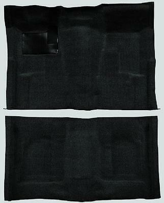 ACC 68-72 CHEVELLE 2-DR AUTOMATIC MOLDED *BLACK* CARPET 80/20 LOOP RUG -