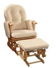Brand New Baby Glider Chair Breast Feeding Chair w/Ottoman Auburn Auburn Area Preview