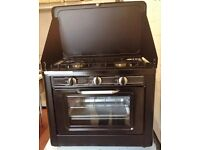 Cooker/ Portable Outdoor Butane Propane LPG Gas Camping Cooker 2 Hob Oven