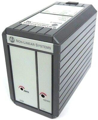 New Non-linear Systems 800-1-1-01-60 Signal Conditioner Io Module Model 8000