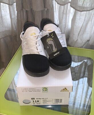 NIB Adidas Harden Vol.1 C Size 11 Youth Basketball Shoes