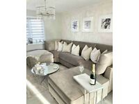 --DELIVERY AVAILABLE--NEW U-SHAPE 6 SEATER CORNER SOFA NOW AVAILABLE