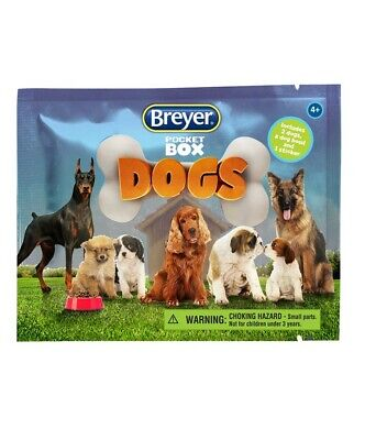 Breyer Pocket Box Dogs Mystery Surprise Blind Pack