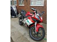 Gilera sc 125 / derbi gpr 125, as fast as rs 125