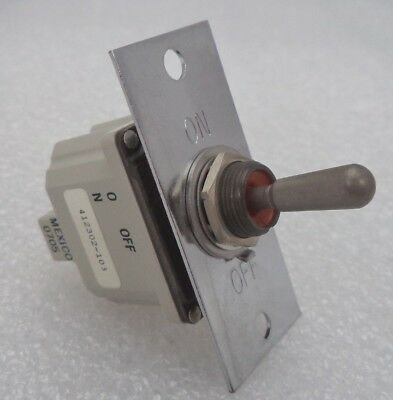 On-off Toggle Switch Assembly With Faceplate And Mounting Screws Pn 412302-103