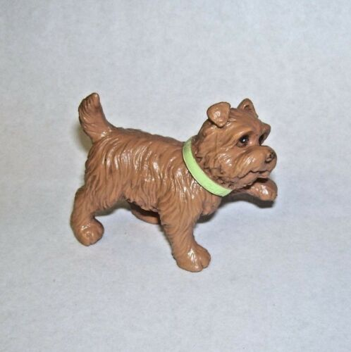 Vintage Tan Terrier Dog Figure