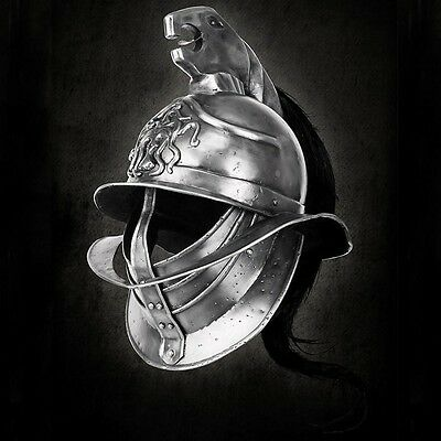 Blood & Sand Spartacus Gladiator Helmet. Head Armour Re-enactment Stage & LARP