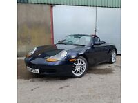 2004 porsche boxster. 2.7 manual. New MOT