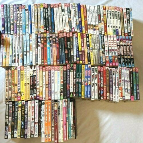 Manga Lot take your pick one for $4.99 and up each! Updated Frequently!