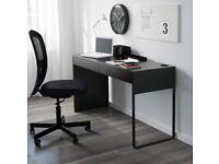 Ikea Desk MICKE Desk Black-brown - Great Condition