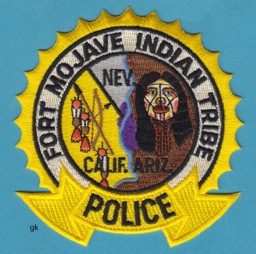 FORT MOJAVE INDIAN TRIBE TRIBAL  POLICE SHOULDER PATCH  (California, AZ.  NV)