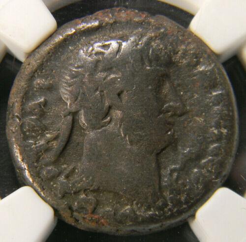 AD 117-138 Roman Coin Egypt Alexandria Hadrian Bi Tetradrrachm NGC VG