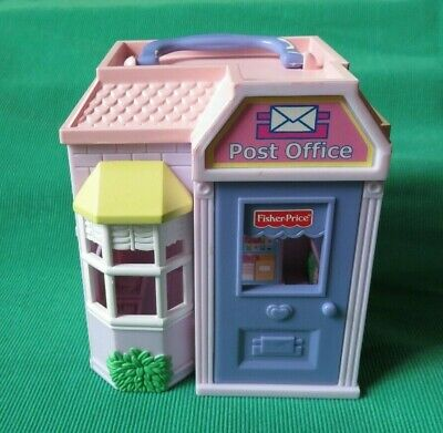 Fisher Price Sweet Streets Dollhouse POST OFFICE  building only replacement