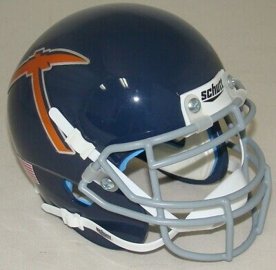 UTEP Texas El Paso Miners Alternate Navy Schutt Mini Authentic Football Helmet