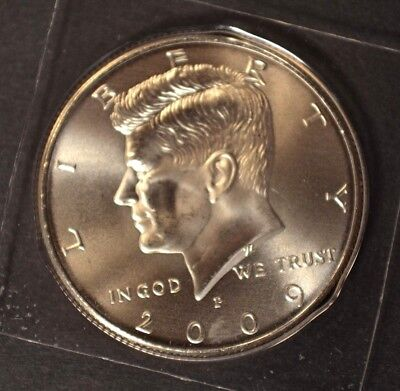 2009 P Kennedy Half Dollar Satin Finish In Mint Packaging VERY LOW MINTAGE ()