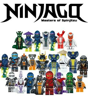 Ninjago vs The Serpentine Minifigures Set 24pc Lot - USA SELLER