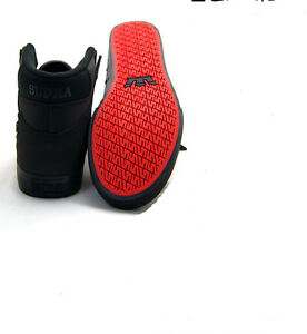 Red And Black Hip Hop Shoes