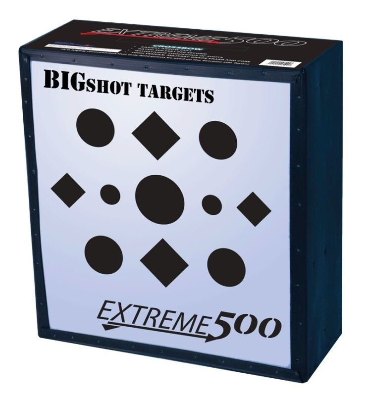 """New Bigshot Iron Man Field Point Long Lasting Extreme 500 Archery Target 24"""""""