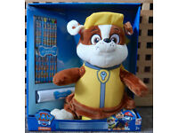 Paw Patrol Plush Child Backpack + Crayons & Activity Roll
