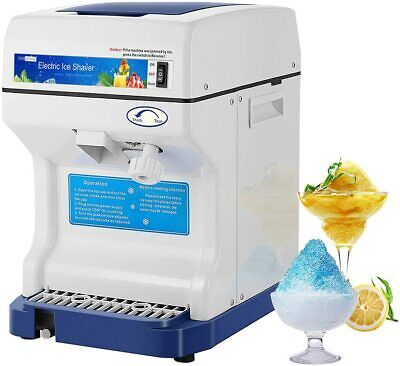 Vivohome Commercial Electric Ice Crusher Shaver Snow Cone Maker Machine Device