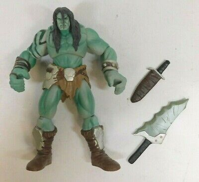 MARVEL LEGENDS SKAAR SON OF HULK FIN FANG FOOM SERIES ACTION FIGURE HASBRO