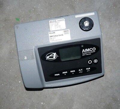 Aimco Uet Series Torque Analyzer Uet-250 250 Lb. In. Capacity Universal Tester