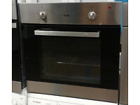 E711 stainless steel ignis single electric oven comes with warranty can be delivered or collected
