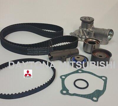MITSUBISHI EVO 8 Timing Belt Kit With Water pump Genuine Mitsubishi All OEM 4G63