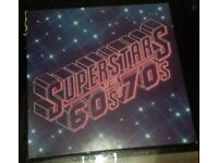 Superstars of the 60's & 70's compilation record