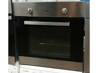 B711 stainless steel ignis single electric oven comes with warranty can be delivered or collected