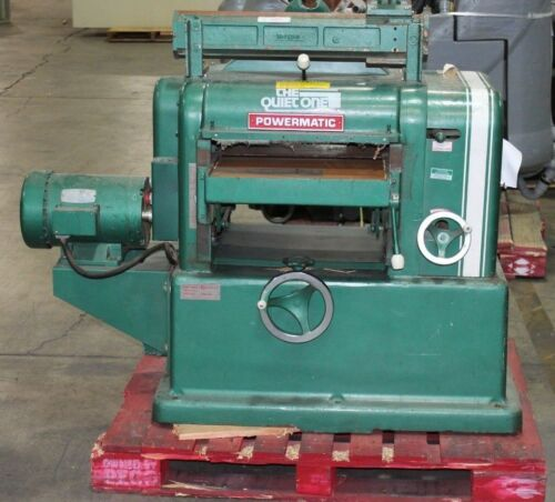 "Powermatic The Quitone Model 180 18"" Wood Planer Good Condition"