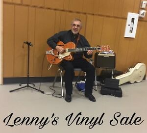Vinyl Sale Open house or by appointment